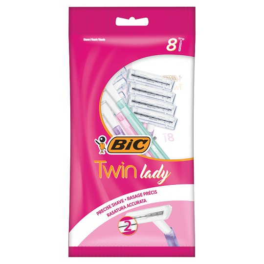 Bic Twin Lady Pouch 8 Pack