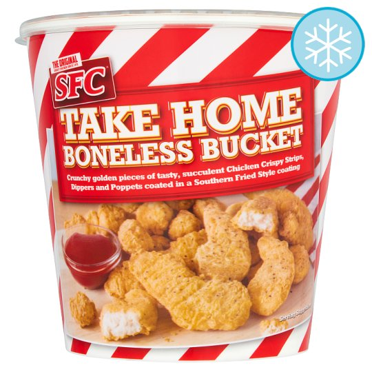 Sfc Boneless Chicken Bucket 650G