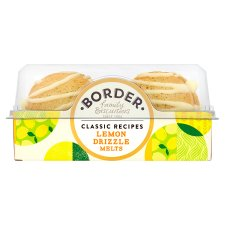 Border Biscuits Lemon Drizzle Melts 150G