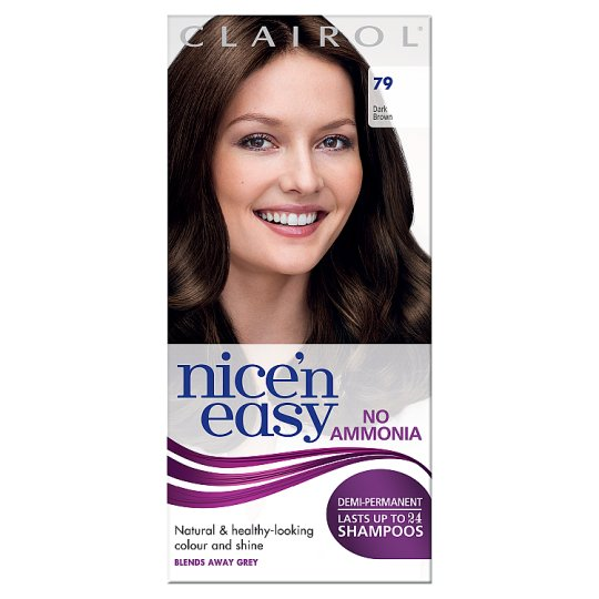 Nice'n Easy No Ammonia Dark Brown 79 Hair Dye