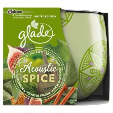 Glade Acoustic Spice Candle 120G