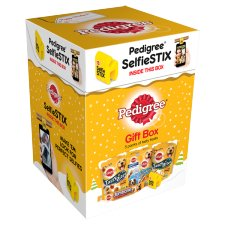 Pedigree Pet Dog Food Christmas Gifts Treats Box 472G