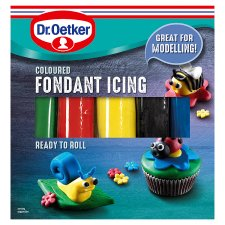 Dr Oetker Ready To Roll Coloured Icing 500G