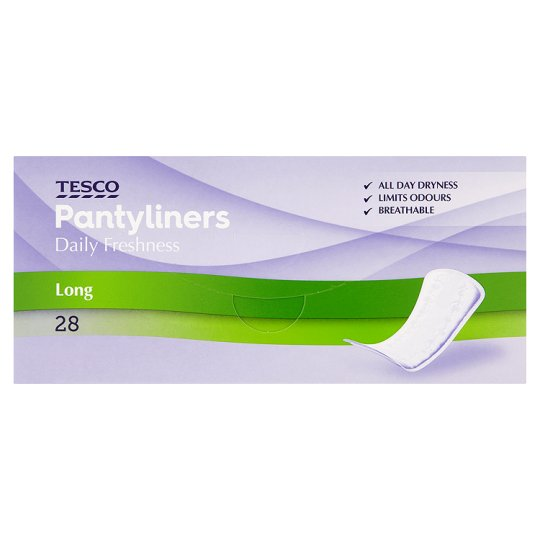Tesco Large Panty Liners 28 Pack