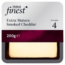 Tesco Finest Extra Mature Smoked Cheese 200G