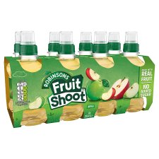 Robinsons Fruit Shoot Apple No Added Sugar 8X200ml