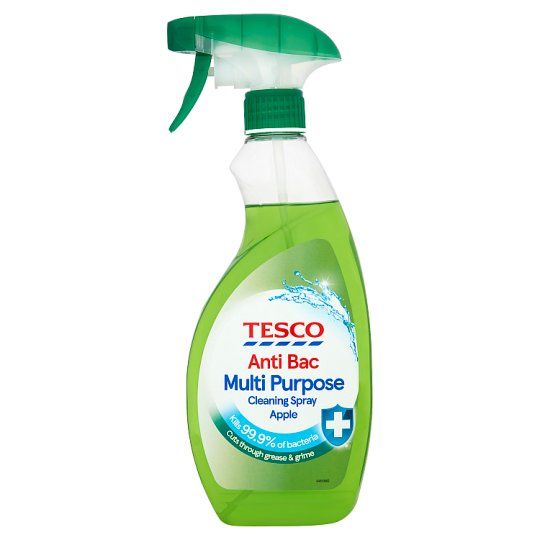 Tesco Multi Purpose A/Bact Apple 500Ml