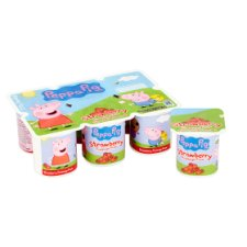 image 2 of Peppa Pig Strawberry Fromage Frais 6 X45g