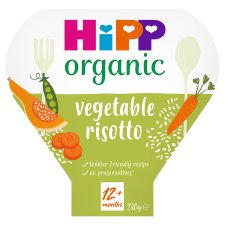 Hipp Organic Vegetable Risotto Tray Meal 230G