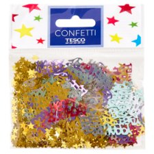 Tesco Table Confetti Happy Birthday