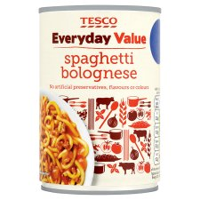 Tesco Everyday Value Spaghetti Bolognese 400G