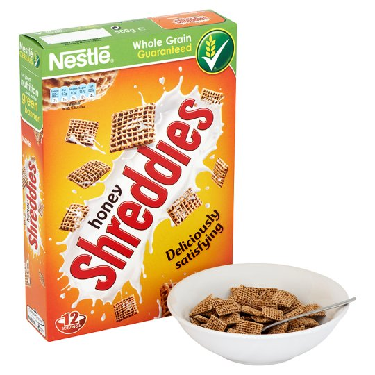 Nestle Honey Shreddies Cereal 500G