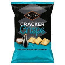 Jacobs Cracker Sea Salt & Balsamic Vinegar 150 G