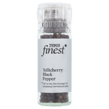 Tesco Finest Tellicherry Pepper Corn Grinder 45G