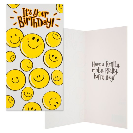 Hallmark Birthday Card It's Your Birthday