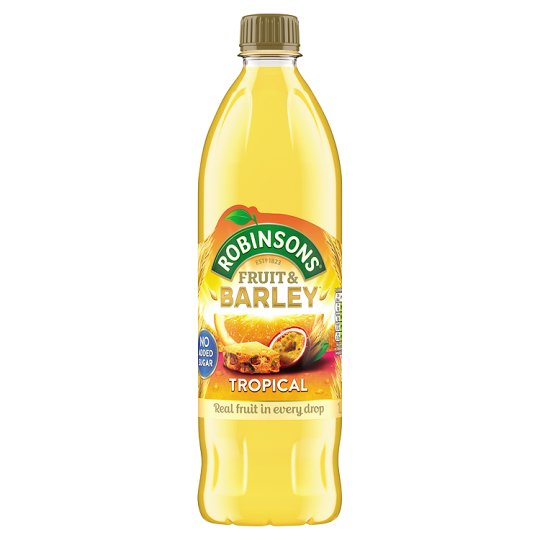 Robinsons Fruit And Barley Tropical 1L