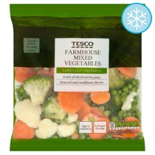 Tesco Farmhouse Mixed Vegetable 400G