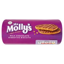 Ms Molly's Chocolate Digestives Biscuits 300G