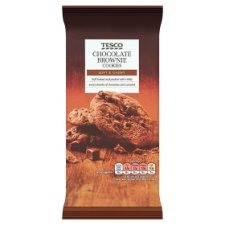Tesco Chocolate Brownie Soft Cookies 200G