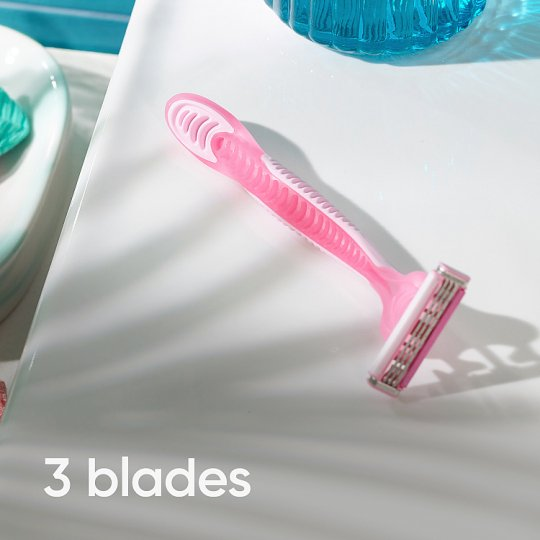 Simply Venus 3 Blade Disposable Razors 4 Pack