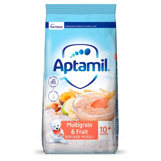 Aptamil Multigrain Fruit Muesli 275G 10 Month Plus