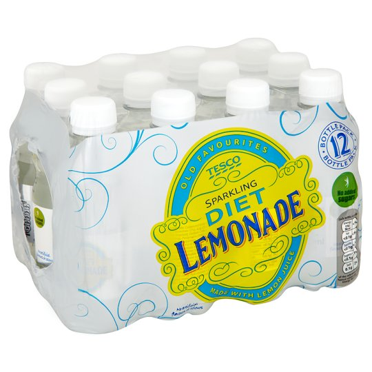 Tesco Diet Lemonade 12X250ml