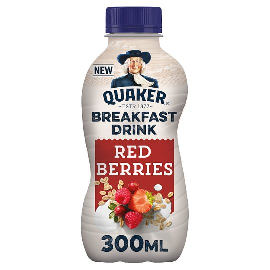 Quaker Red Berries Breakfast Smoothie 300Ml