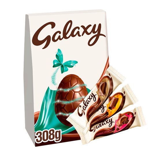 image 1 of Galaxy Milk Chocolate Indulgnt Collection Easter Egg 308G