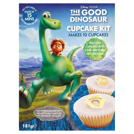 Dinosaur Cake Decorations Tesco : Good Dinosaur Cupcake Kit 181G - Groceries - Tesco Groceries