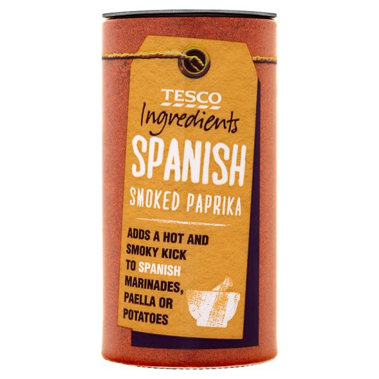 Tesco Ingredient Spanish Smoked Paprika 50G