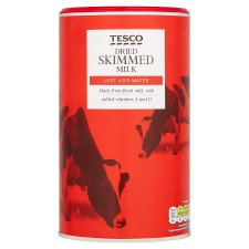 Tesco Instant Dried Skimmed Milk 340G
