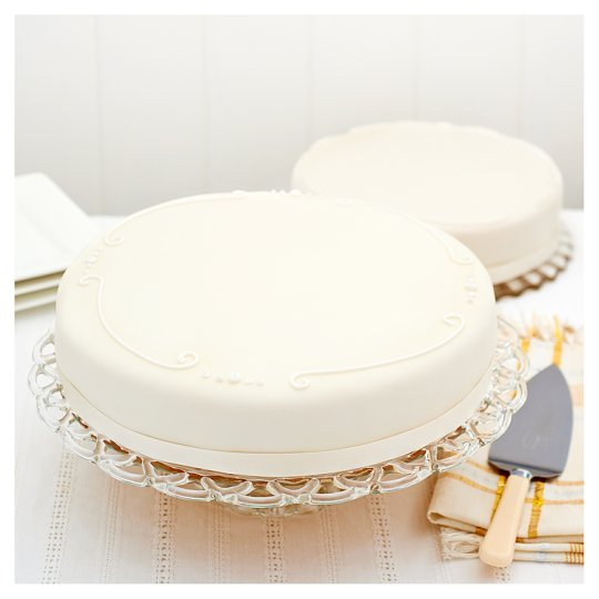 tesco plain white wedding cake decorate your own cake supermarket decoratingspecial 20799