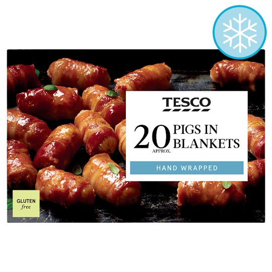 Tesco 20 Pigs In Blankets 400G