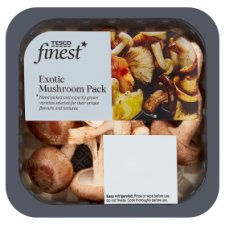 Tesco Exotic Mushroom Mini Pack 50G