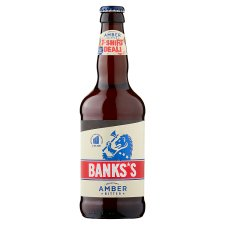 Banks's Amber Bitter Bottle 500Ml