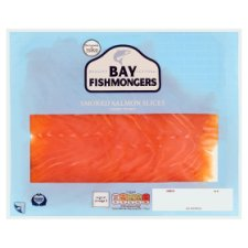 Bay Fishmonger Smoked Salmon Slices 300G
