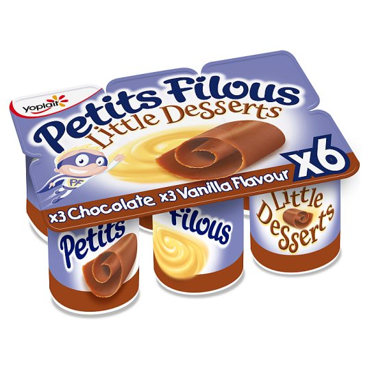 Petits Filous Little Desserts 6X55g