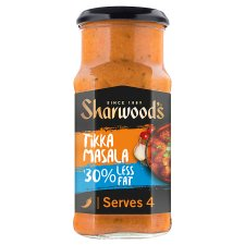 Sharwoods Tikka Masala 30% Less Fat Cooking Sauce 420G