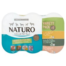 Naturo Dog Grain And Gluten Free Variety 6 X 390G