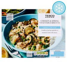 Tesco Chicken And Vegetable Risotto 400G
