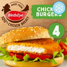 Birds Eye 4 Chicken Burgers 200G