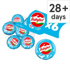 Mini Babybel Light Cheese 6 Pack, 120 G