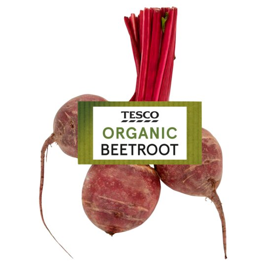 image 1 of Tesco Organic Raw Beetroot 450G
