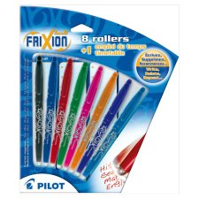 Pilot Frixion 8 Assorted Pack With Timetable