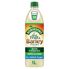 Robinsons Fruit And Barley Apple And Pear 1L