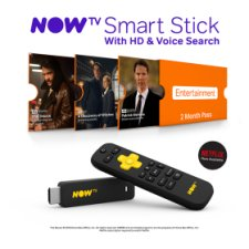 NOW TV Smart Stick with 2 month Entertainments Pass