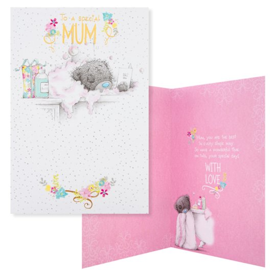 Carte Blanche Birthday Card To A Special Mum