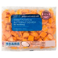 Tesco Butternut Squash & Sweet Potato 350G