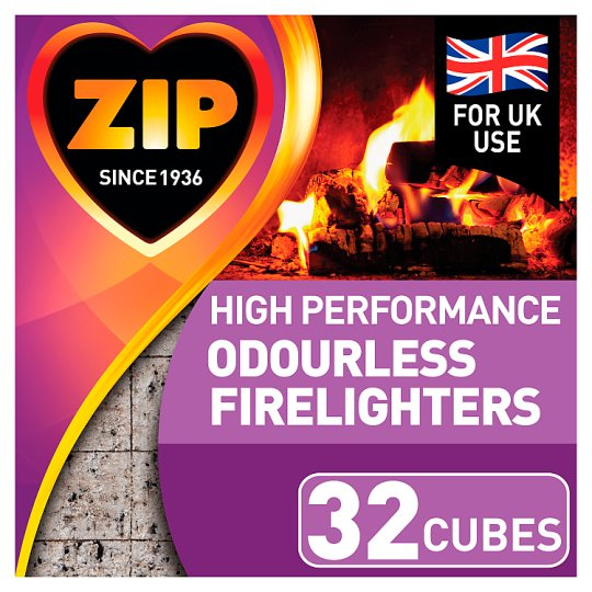 Zip 32 Odourless Firelighters