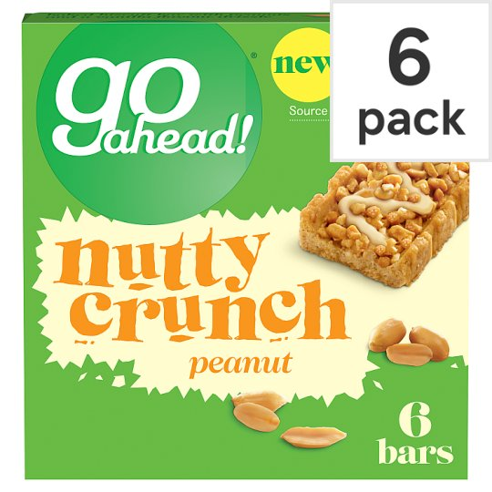 Go Ahead Nutty Crunch Peanut 6 Pack 117G